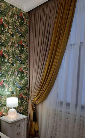 Дизайн штор в Одессе и по Украине, пошив , навес