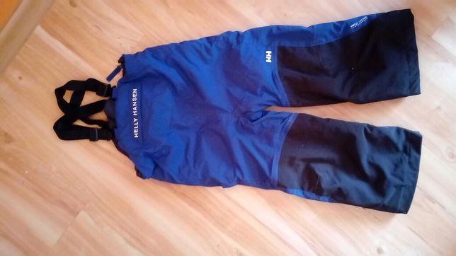 Spodnie zimowe narciarskie ocieplane roz. 98 Helly Hansen