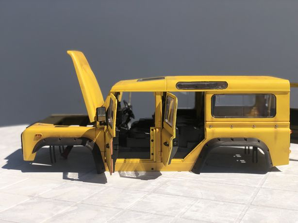 Troco Body Land Rover D110,  axial, traxxas, rc4wd, hpi