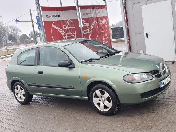 Nissan Almera n16 1.5 benzyna 2003r pali i jeździ aktu.OC *CZYTAJ OPIS