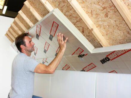 Izolacja Poddaszy Dachów Podłóg Płyty PIR ENERTHERM ALU- z aluminium