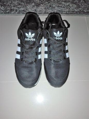 buty adidas czarno biale