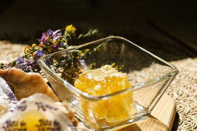 Мёд сотовый натуральный