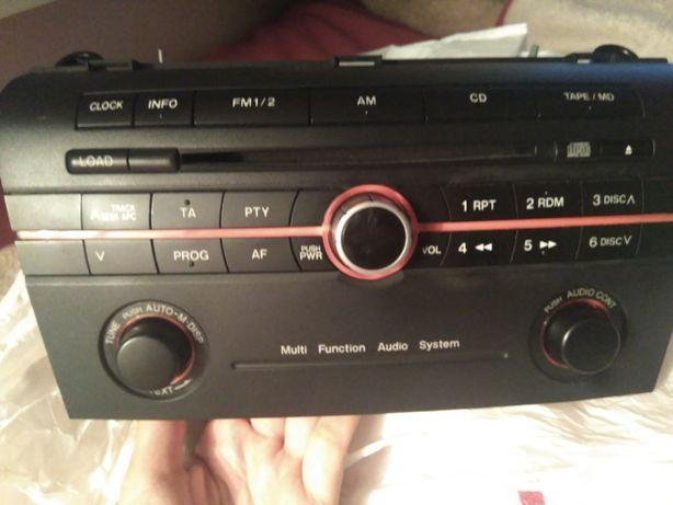 Rádio com display lcd, Mazda 3 2004/2006