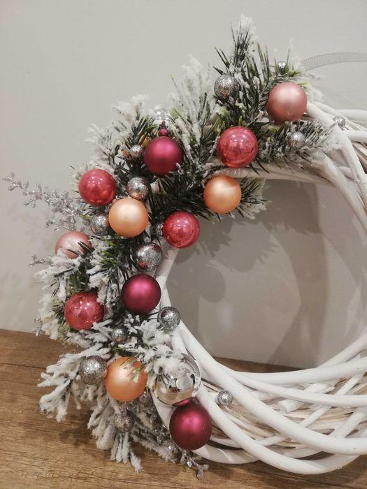 Wianek wiklinowy 25cm świąteczny Jaworzno - image 1