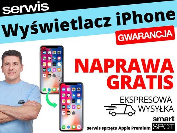 Wyświetlacz do iPhone 5 6 7 8 X Xs 11 naprawa GRATIS / szyba wysyłka