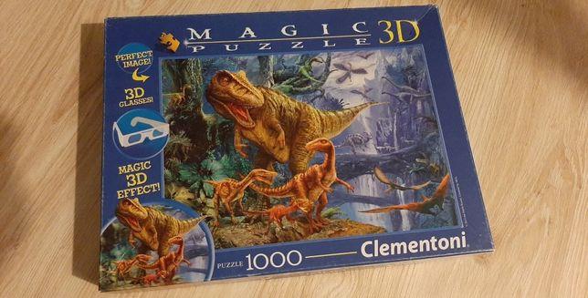 Puzzle Clementoni 1000 Magic 3D