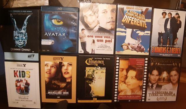 Filmes em DVD e Blue Ray