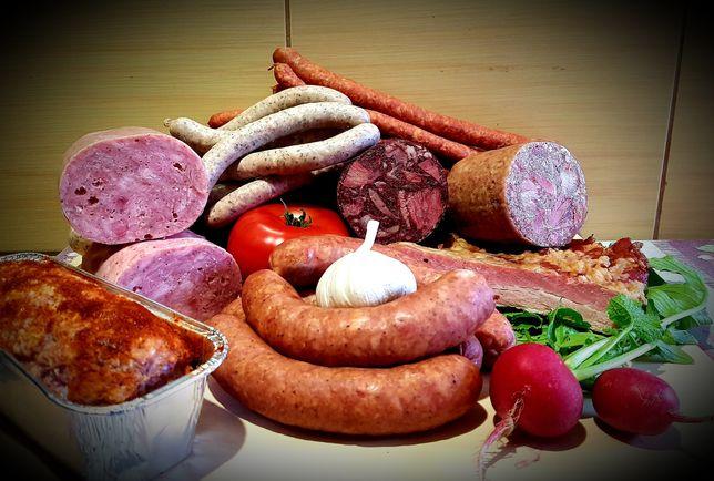 Swojskie Wyroby- Kiełbasy, Wędzonki,Wędliny Podrobowe