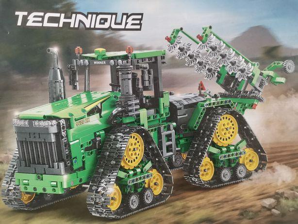 John deere traktor sterowany technic (nie lego)