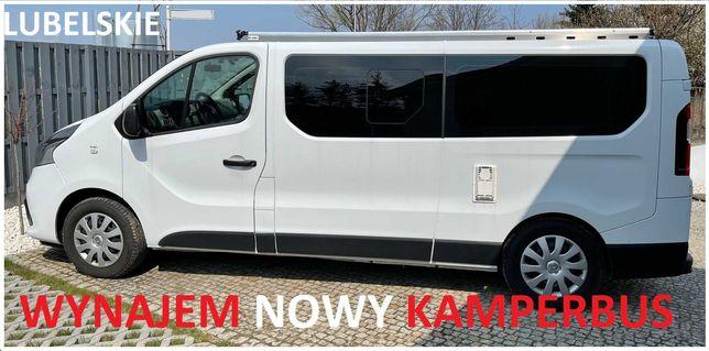 Wynajem kamper - Renault Trafic 1,6 Kamperbus camper do wynajęcia