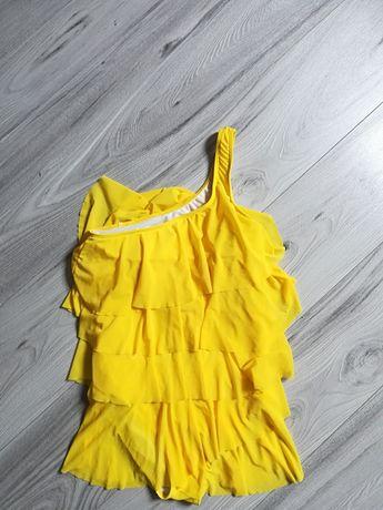 Strój kąpielowy jednoczęściowy żółty M