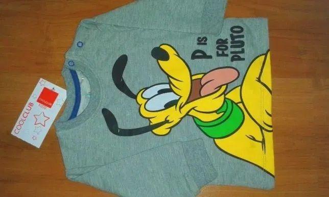 CoolClub*Bluza dla chłopca,rozm.68*Pluto