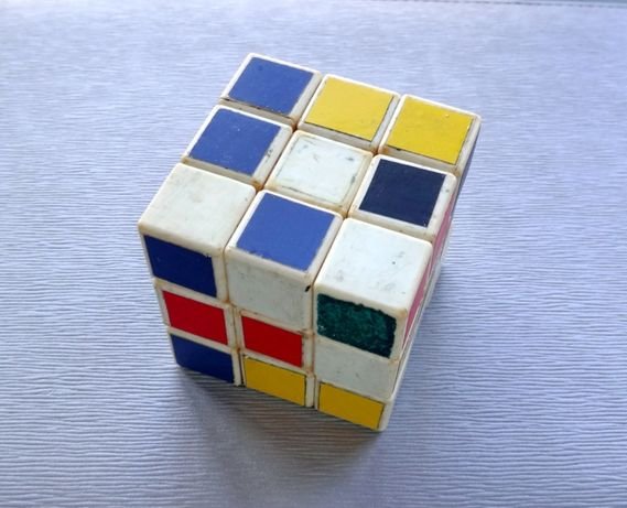 Советский кубик рубик СССР (кубик Рубика 3х3) ретро