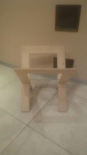 Gazetnik półka 38x38 jasne, stolik na książki na wzór Ikea DukaHome