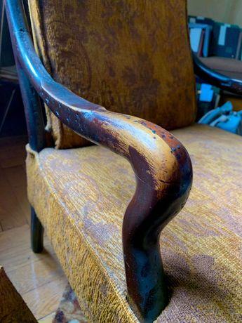 Dwa fotele vintage prl