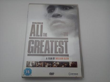 Muhammad Ali dvd dokument Ali the greatest KLEIN boks