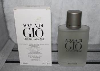 Armani Acqua di Gio perfumy 33ml woda toaletowa perfumowana MAN Aqua