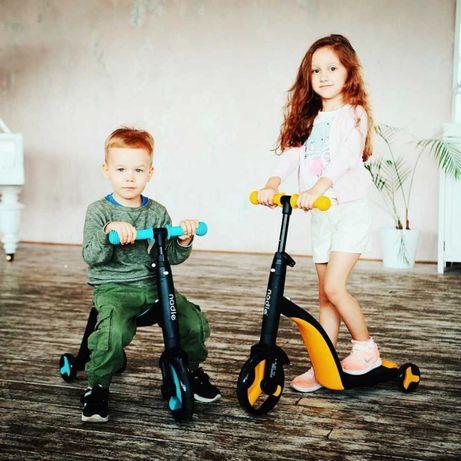 Есть Самовывоз!Детский Самокат 3в1: Самокат + Беговел + Велосипед