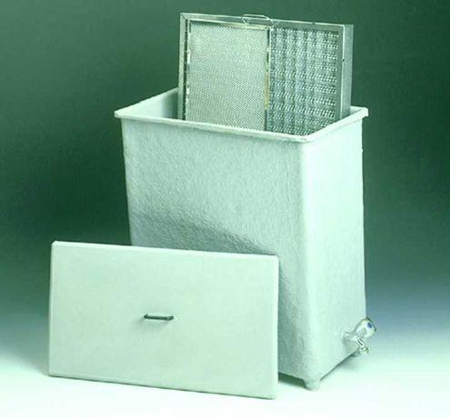 TINA / CAIXA inox para lavagem de Filtros de Exaustão