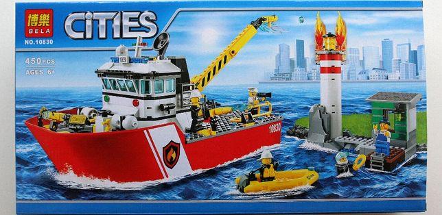 Zestaw klocków jak lego -citi łódż
