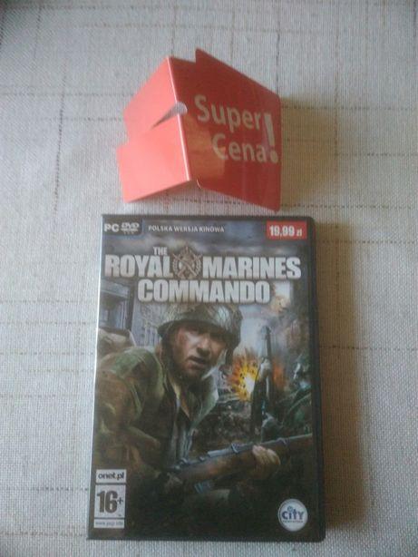 gra PC DVD komputerowa Royal Marines Commando