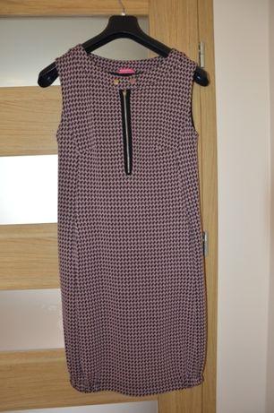 Sukienka elegancka ciążowa i do karmienia r. S, Happymum