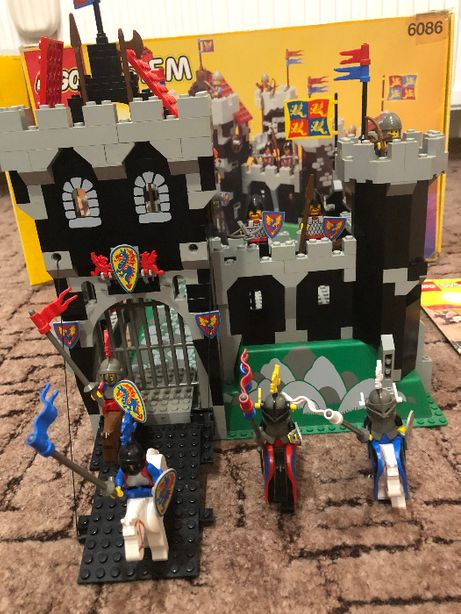 Lego zamek 6086 Black Knight's Castle