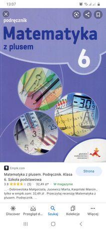 Testy i odpowiedzi Matematyka z plusem kl 4,5,6,8