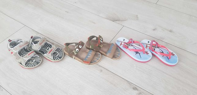 Sandałki dla chłopca wiek 3 lata