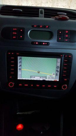 Rádio mfd2 de origem Seat Leon 1p