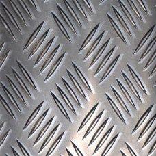 Лист рифленый алюминевый