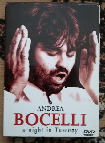 Andrea Bocelli/Андреа Бочеллли - DVD - A night in Tuscany