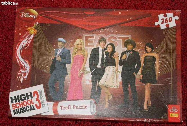 Puzzle TREFL 260el. High School Musical 3