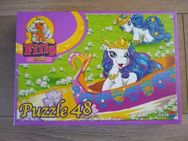 Puzzle Puzle Filly koniki kucyki 48