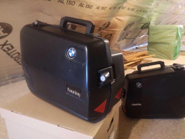 Bmw f650 kufry boczne + stelaże Touring oryginalne