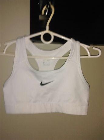 Stanik Nike biały
