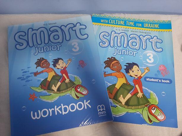 Тетрадь и книга smart 3клас