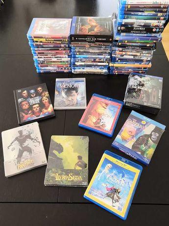 Blu-Ray, Blu-Ray 3D e DVD (Disney, DC Comics e Marvel) - Novos Filmes!