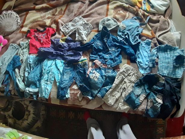 Вещи на мальчика 1-2 года