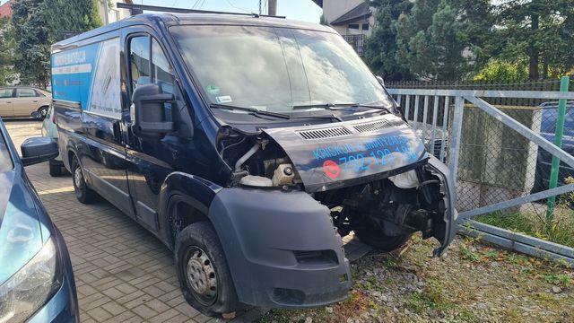 Sprzedam Peugeot Boxer uszkodzony silnik