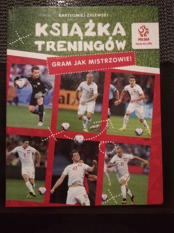 Książka treningów dla fana piłki nożnej