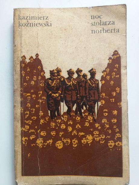 """""""Noc stolarza Norberta"""" Kazimierz Koźniewski powieść"""