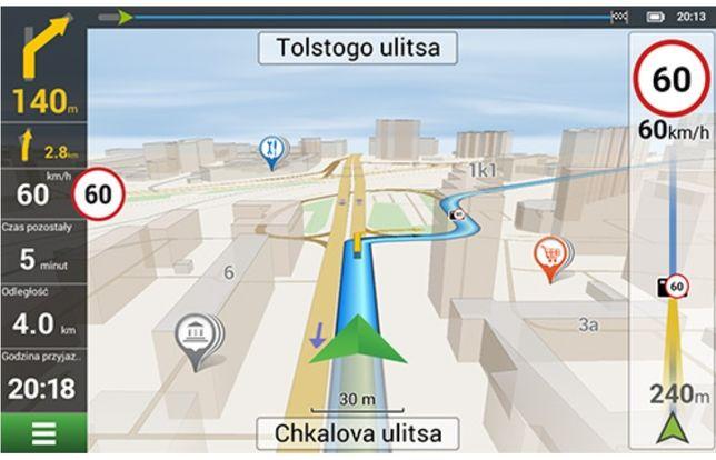 Dożywotnia licencja/aktualizacja nawigacja Navitel cała Europa