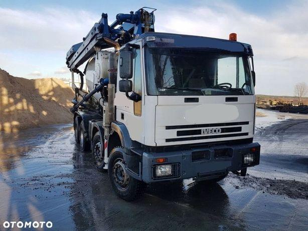 Iveco Eurotrakker 410 8x4 CIFA 25m + 9m3 pompogruszka  dozor TDT aktualny, w ciaglej aksplatacji