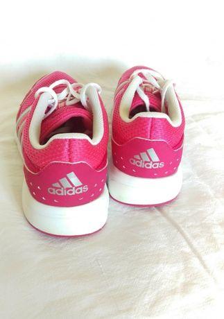 Różowe adidasy adidas obuwie sportowe buty fitness