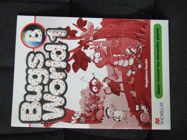 """Ćwiczenia do j.angielskiego """"Bugs World 1B Macmillan"""