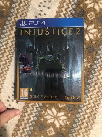 Injustice 2 Ultimate Edition + Steelbook (російські субтитри) PS4