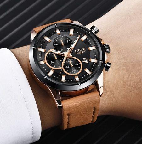 Zegarek męski Lige Biznesowy Luksusowy 2020 + BOX