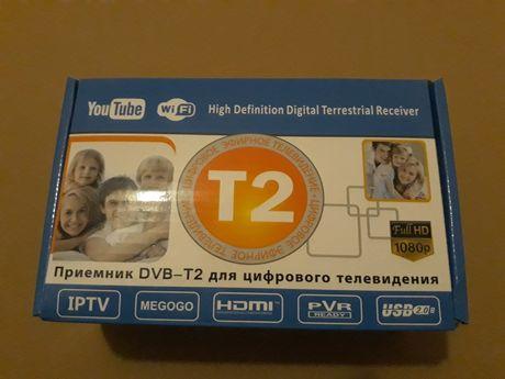 Приставка Т2 Тюнер Рессивер. Приймач безкоштовного перегляду TV.